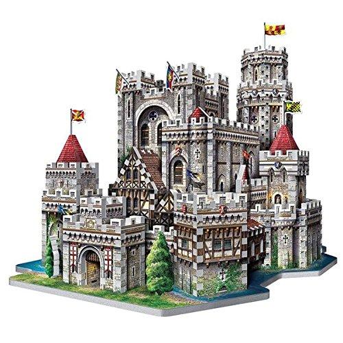 WREBBIT 3D King Arthurs Camelot 3D Jigsaw Puzzle (865-Piece)