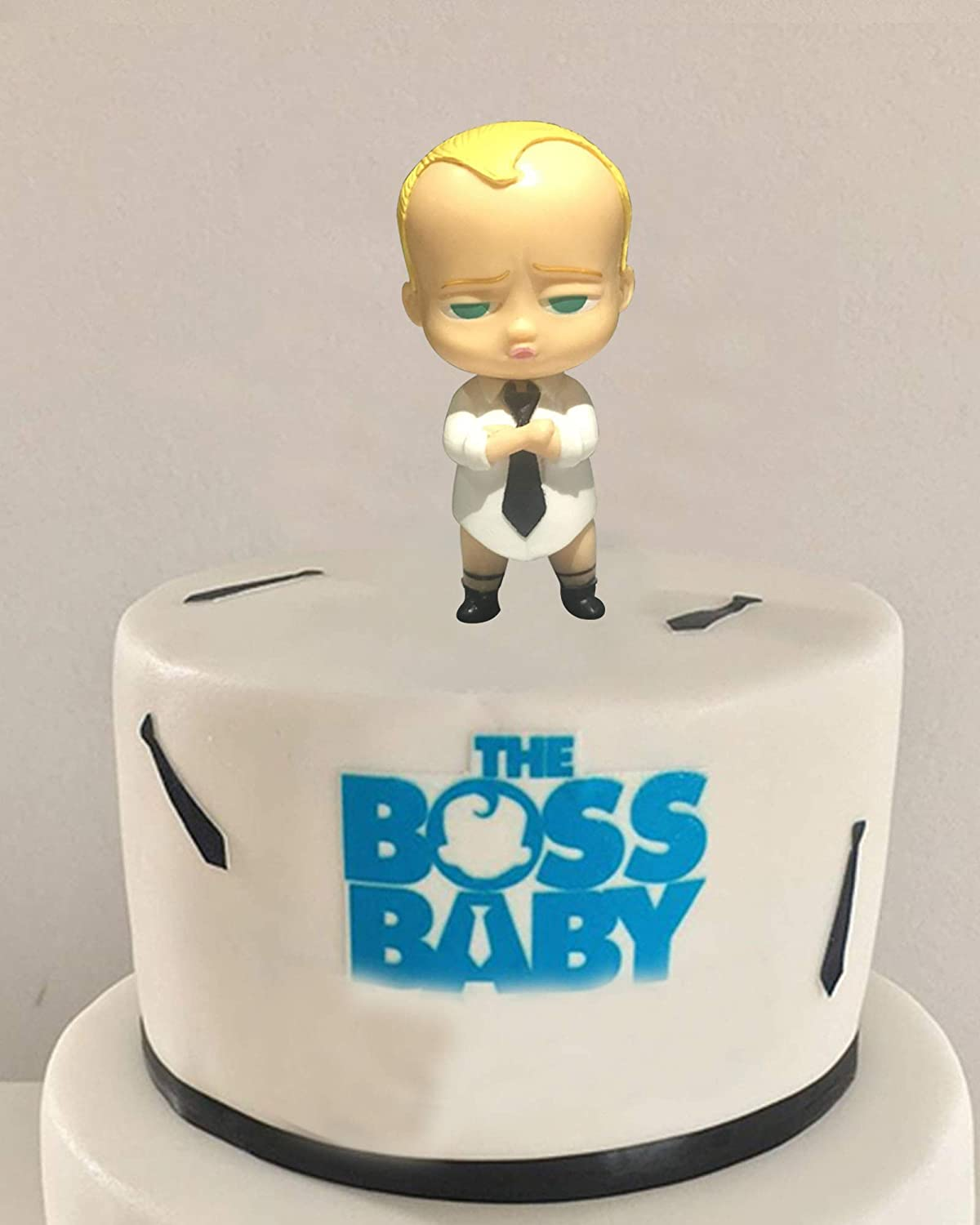 Swell 1 Pcs Boss Baby Cupcake Toppers Kids Birthday Party Baby Shower Funny Birthday Cards Online Barepcheapnameinfo