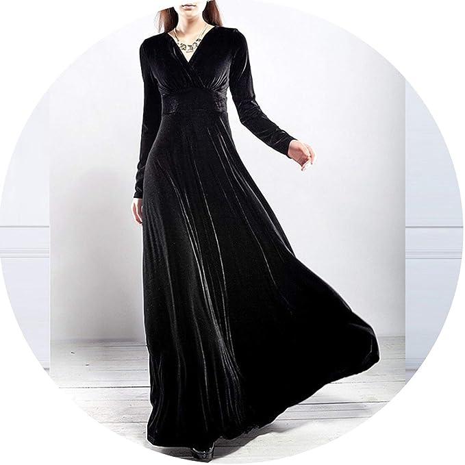 Amazon.com: Vestido de invierno para mujer de manga larga ...