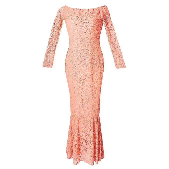 Sharplace Ropa de Fotografía de Mujeres Embarazadas Vestido Ajustadon Accesorios de Mujer Cómodo - Rosa, 82cm/32.28inch (tiled), 102cm/40: Amazon.es: Ropa y ...