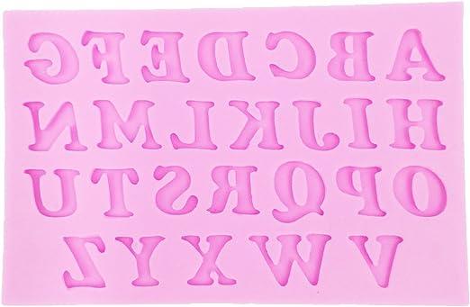 Alphabet 30 Cavity Silicone Mold for Fondant Crafts NEW Gum Paste Chocolate