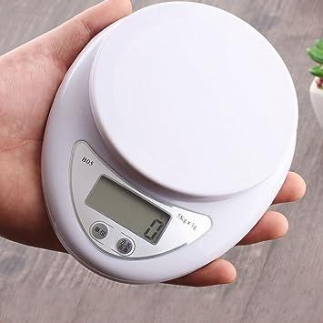 Báscula de cocina electrónica para el hogar, báscula de pesaje de cocina, báscula digital