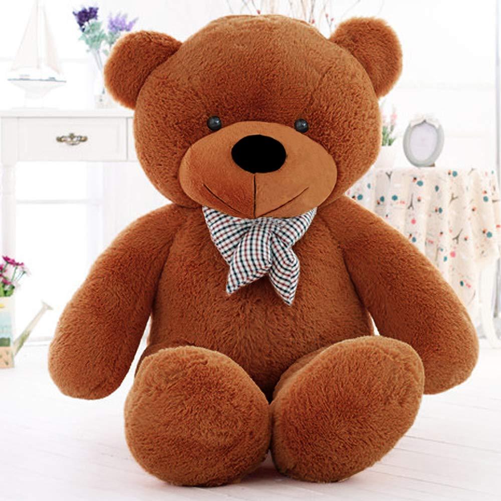 MaoGoLan Giant Teddy Bear Big Stuffed Animals Plush for Girlfriend,47 inch (Brown) by MaoGoLan