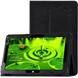 Chuwi hibook 10.1 Cases TopAce PU Leather Case With Stand Function For Chuwi hibook 10.1 (Black)