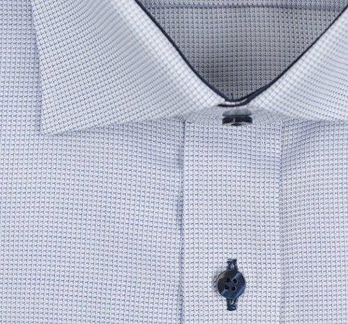 ETERNA long sleeve Shirt COMFORT FIT Fancy weave structured