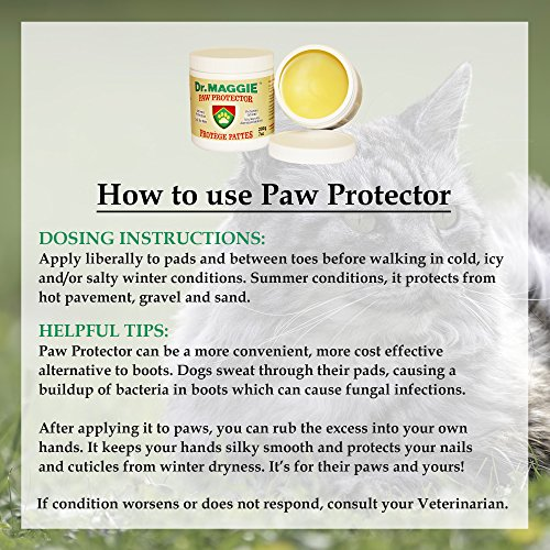 Dr. Maggie Paw Protector Original Packaging | Protective Paw Wax for Dogs & Cats | Paw Guard | 200 g 7 oz | Ice, Salt, and Snow Protection | Regular price $22.95