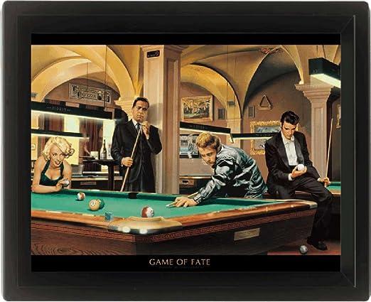 Empire Merchandising 557902 Consani, Chris, Game of Fate, Enmarcado 3D Póster, tamaño 20 x 25 cm: Amazon.es: Hogar