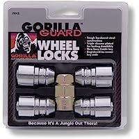 Gorilla Automotive Bellota Lug Nuts 24, Paquete de 4, Cromado, 1.27 cm