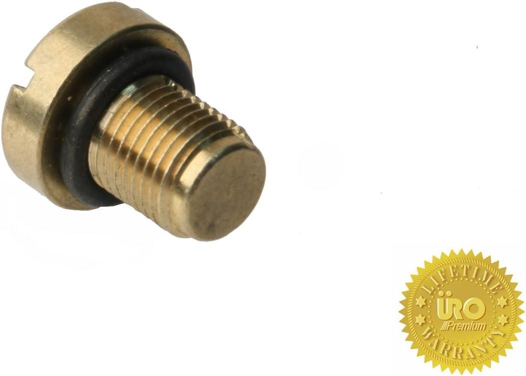 Brass vs OEM Plastic URO Parts 17111712788PRM Coolant Tank Bleeder Screw