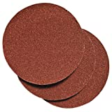 PORTER-CABLE 735001025 5-Inch Hook and Loop Aluminum Oxide No Hole 100G Disc (25-Pack)