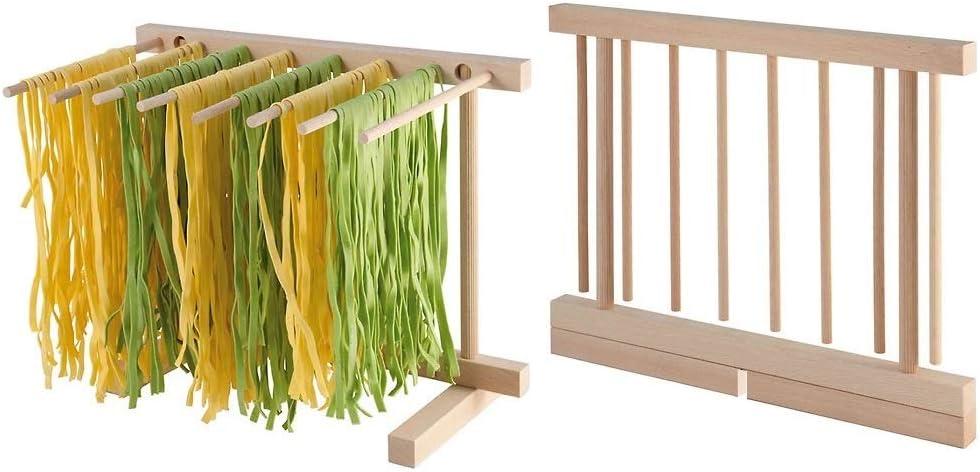 Pieghevole in legno per pasta drying stand/ /spaghetti pasta strisce piegato stendino Maker