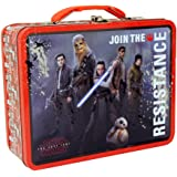 The Tin Box Company Large Carry All Tin Lunchbox (Star Wars The Last Jedi)