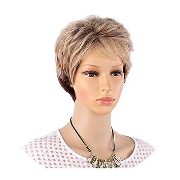 Amir highlights blonde short female haircut ... - Amazon.com