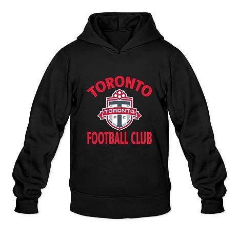 uk availability f7e43 0d7e0 YOGUYA Men's Toronto Fc Hoodie Shirt Black XXL: Amazon.ca ...