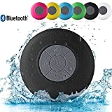 MM Gold Water Proof Bluetooth Shower Speaker With Mic,(Multi colors )