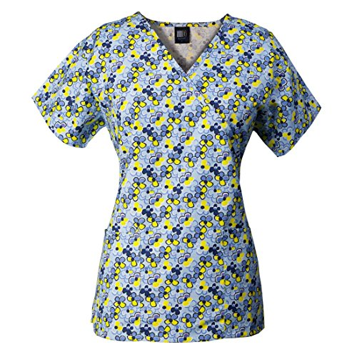 e73dfbf24bb MedGear Womens Scrubs Set, Printed Scrubs Top & Utility Style Scrubs Pants  - Buy Online in Oman. | Apparel Products in Oman - See Prices, Reviews and  Free ...