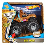 Hot Wheels Monster Jam Rev Tredz Scooby Vehicle (1:43 Scale)
