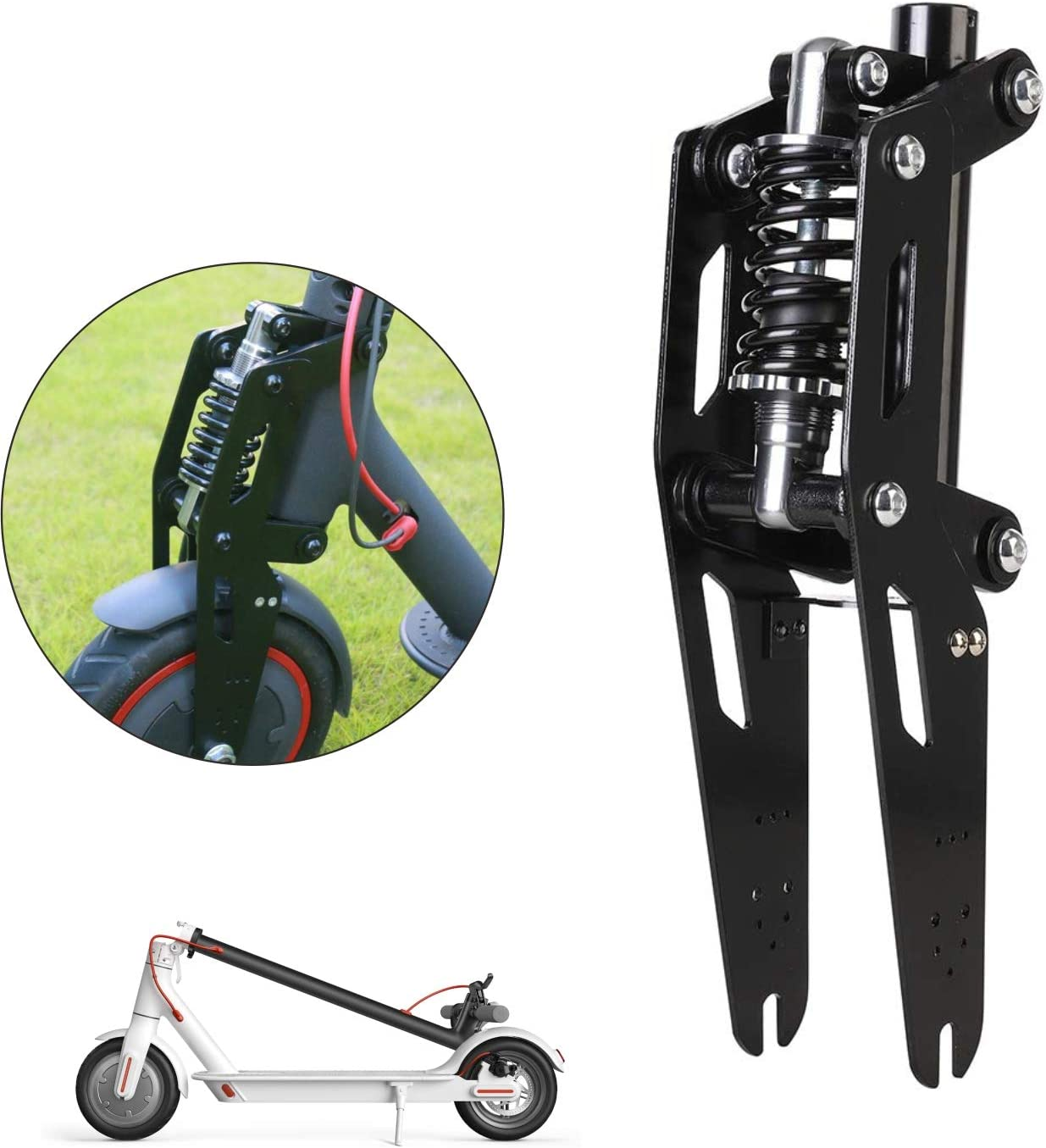 WELLSTRONG New Modified Shock Absorber Front Fork for Xiaomi Mijia M365 Bird MI and M365 Pro Vibration Damper Accessories
