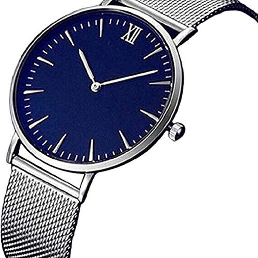 Scpink Relojes de Cuarzo para Mujer, Reloj de Lujo Fahion Pop Relojes para Mujer Relojes analógicos Reloj de Acero Inoxidable Reloj con Correa de ...