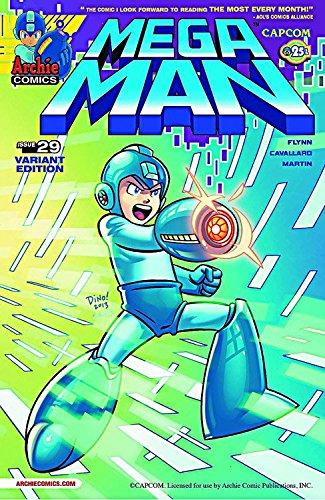 Mega Man #29 Haspiel Cover ebook