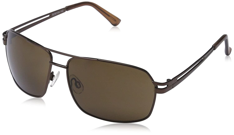 Carlo Monti Herren SCM104-142 Rechteckig Sonnenbrille