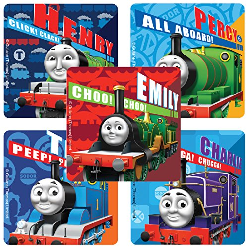 SmileMakers Thomas The Train Stickers - Prizes 100 per Pack ()