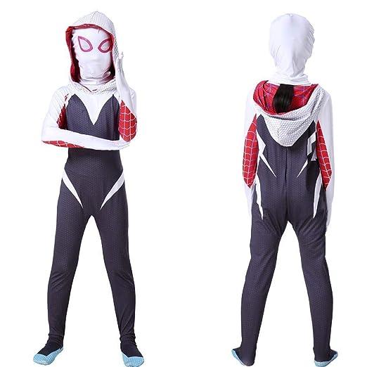 WEDSGTV Spiderman Cosplay Medias para Adultos Ropa Traje ...