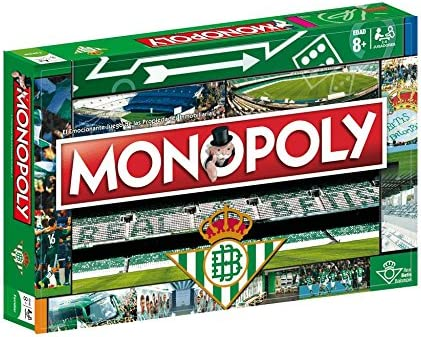 ELEVEN FORCE Monopoly Real Betis (81625), Multicolor, Ninguna