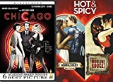 Hot & Spicy Musicals - Chicago + Romeo & Juliet + Moulin Rouge DVD Movie Set Bundle