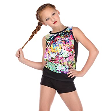 Amazon alexandra collection youth express yourself hip hop alexandra collection youth express yourself hip hop dance costume tank top black 6 solutioingenieria Gallery