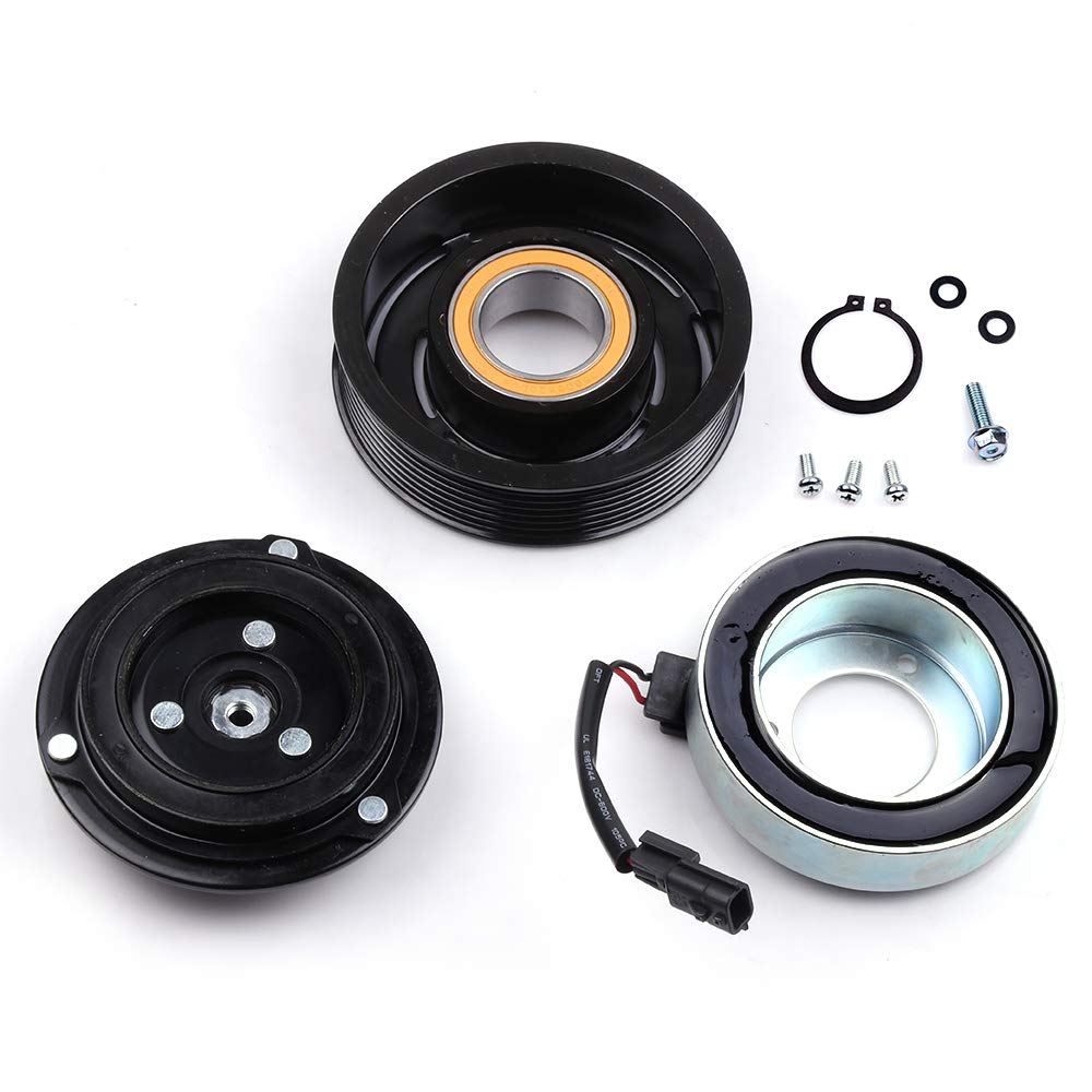 AUTOMUTO A//C compressor fit for Nissan Maxima Murano Quest Pathfinder Infiniti JX35 QX60 3.5L 08 09 10 11 12 13 14 15 Compatible with CO 29148C Auto Repair Compressors Assembly