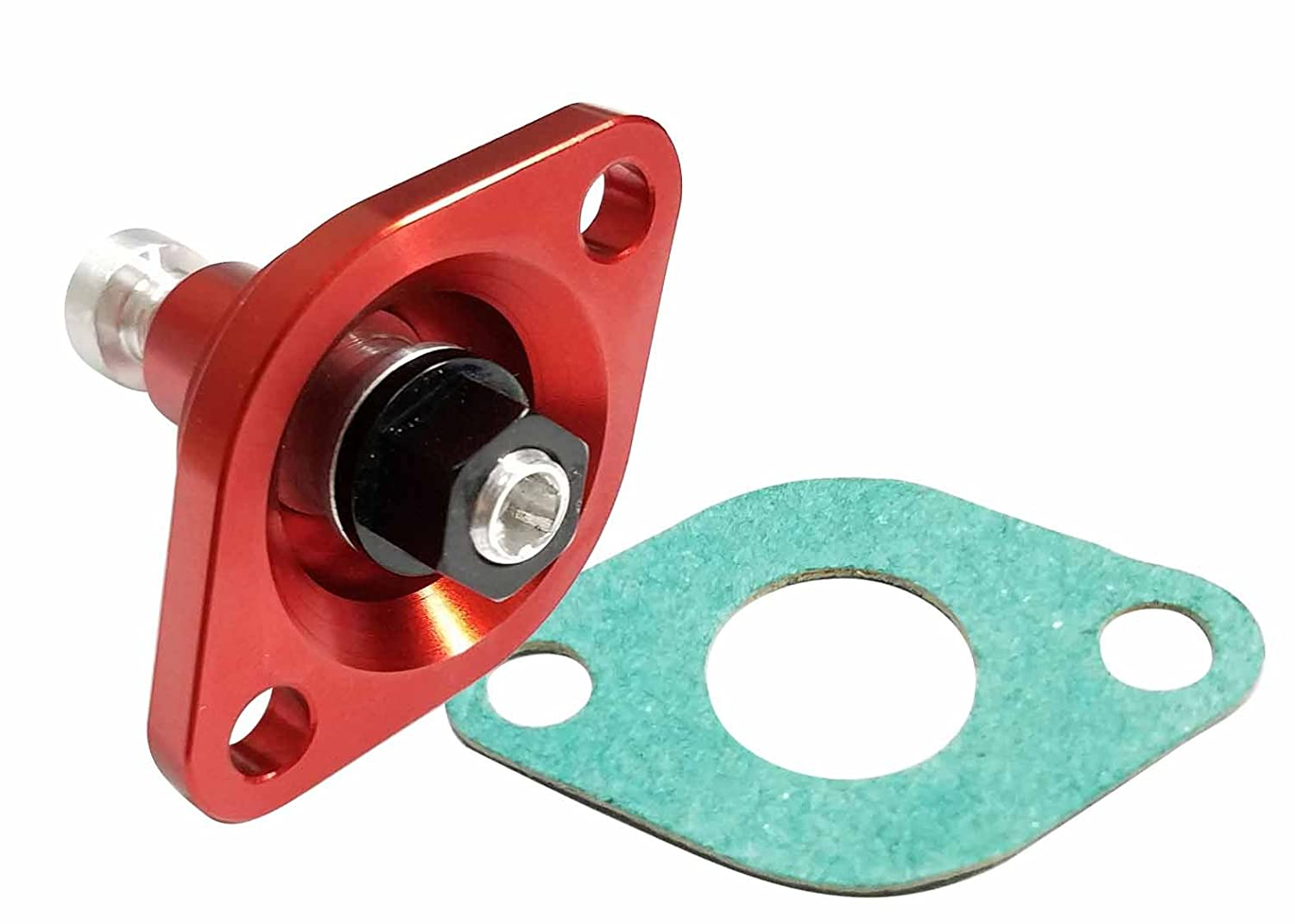 Yana Shiki USA CT-101 Red Manual Cam Chain Tensioner (Red for Honda CRF), 1 Pack