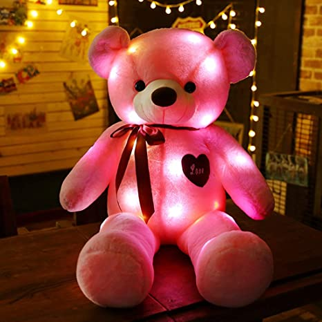 Amazon.com: Almohada de peluche con diseño de oso de peluche ...