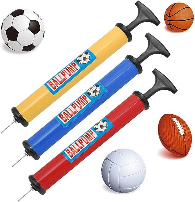 Ball Pump Air Needles slime 20267 basketball  soccer football set of 2