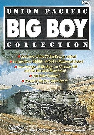 Amazon com: Union Pacific Big Boy Collection [DVD]: Union
