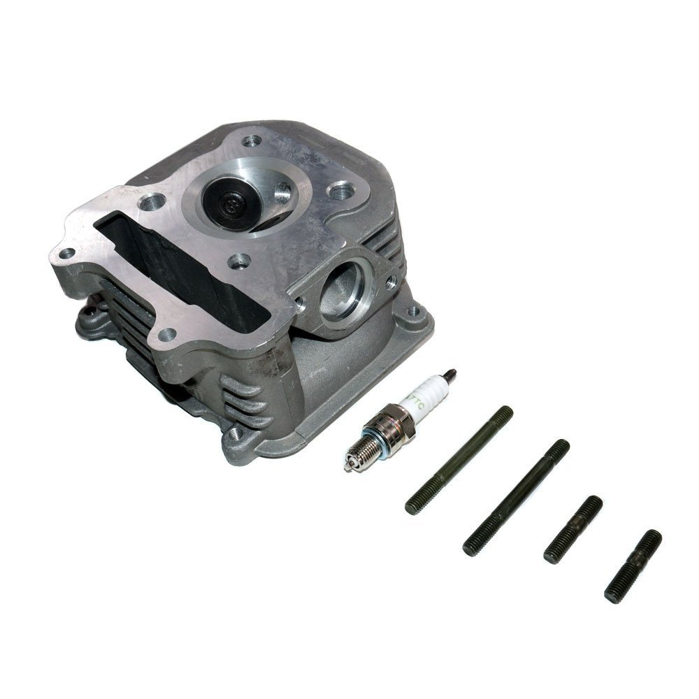 Complete Cylinder Head GY6 150cc (Cylinder Head, Valves, Springs, Seals) by MMG (Image #1)