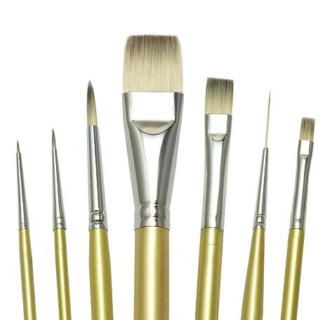Royal And Langnickel Professional Brush Set pack Of 7 Art Supplies