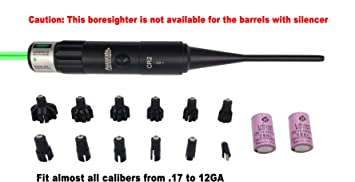 Professional Boresighter Kit Universal Red Laser Dot Bore Sight Target Sighter