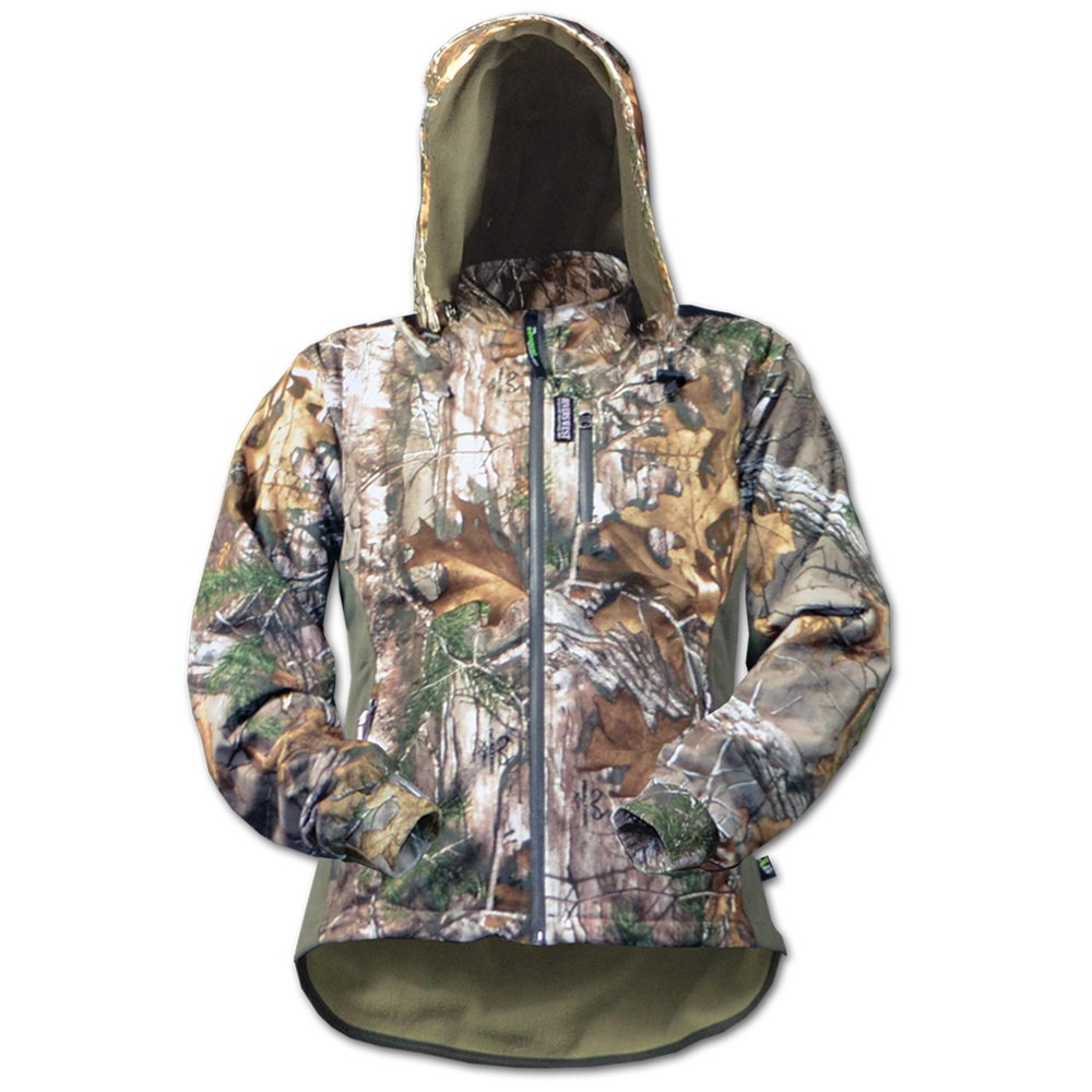Rivers West Women's Lynx Jacket (Mossy Oak Country, Large) by Rivers West