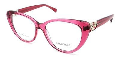 788e1012f85 Amazon.com  Jimmy Choo Rx Eyeglasses Frames JC 120 W5R 53-16-140 ...