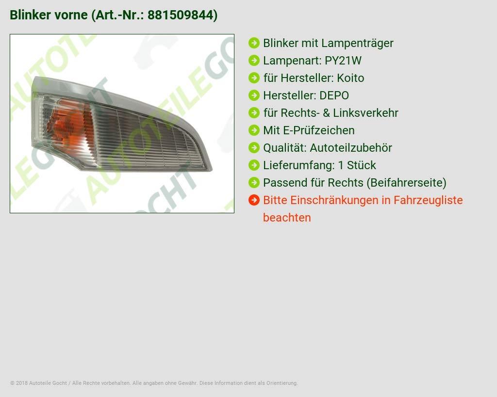 MK427118 DEPO Blinker Rechts für
