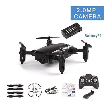 Pudincoco LF606 Drone con cámara 720P Quadcopter plegable RC ...