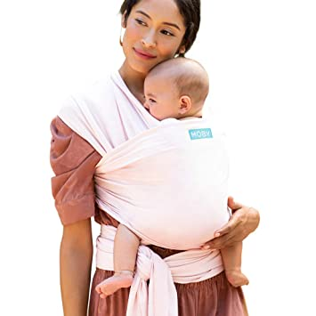 Moby Wrap Baby Carrier #1 Baby Wrap Keeps Baby Safe /& Secure Adjustable for All Body Types Mickey Mouse Baby Wrap Carrier for Newborns /& Infants Disney Baby