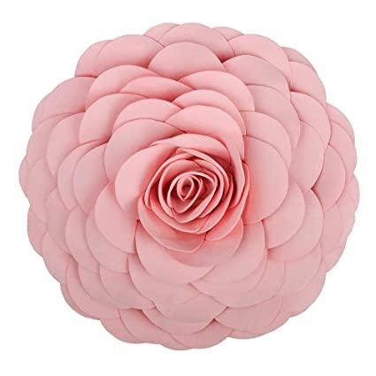 Amazon king rose flower handmade 3d decorative throw pillow king rose flower handmade 3d decorative throw pillow stereo cushion for sofa chair couch 13 inches mightylinksfo