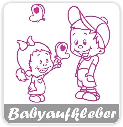 Babyaufkleber Geschwisteraufkleber Für Auto Mit Wunschtext Gs 19 Baby