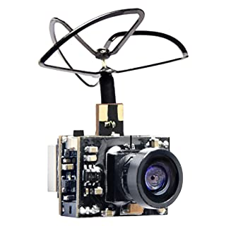 Wolfwhoop WT01 Micro AIO 600TVL Cmos Camera 5.8GHz 25mW FPV Transmitter Combo with Clover Antenna for FPV Quadcopter Drone