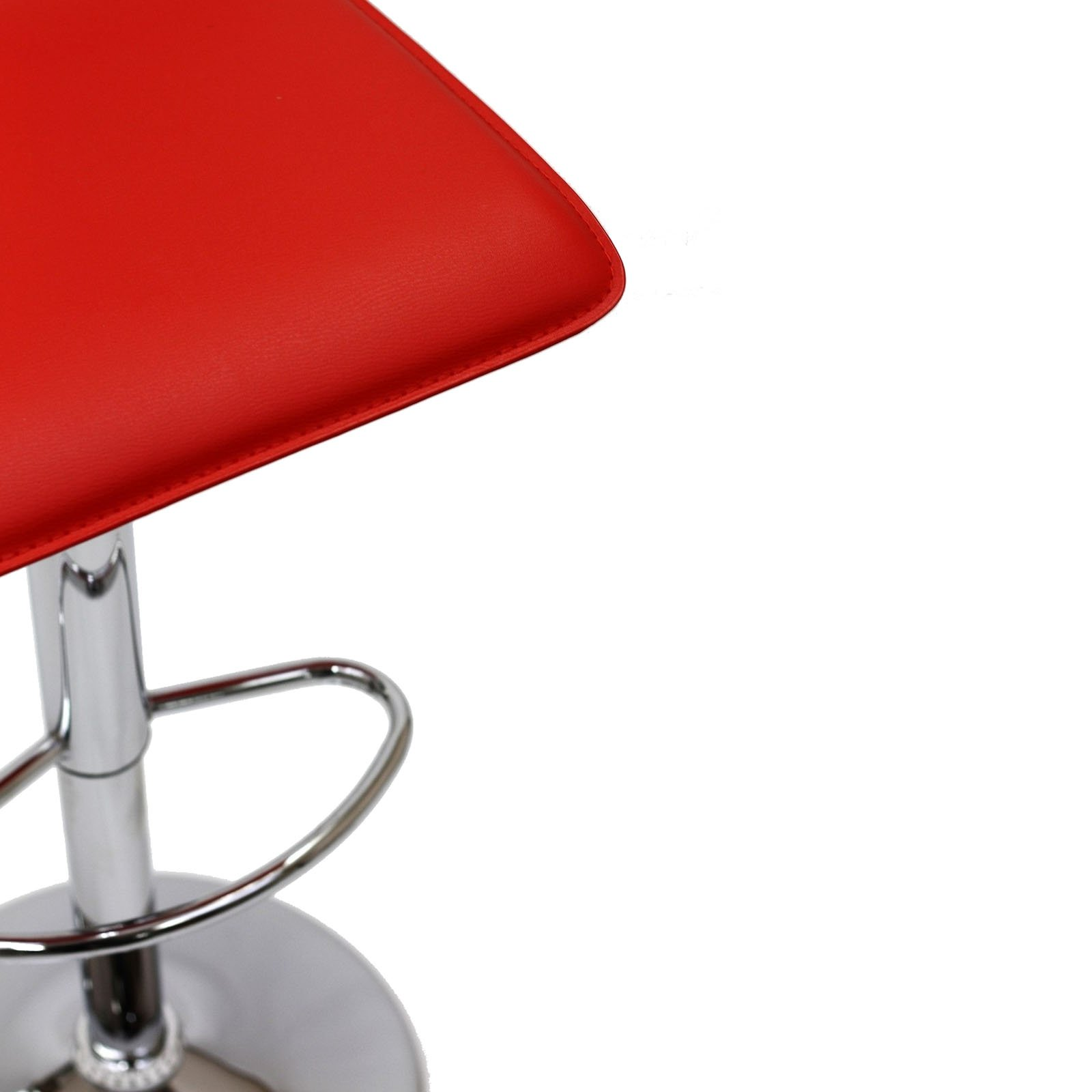 Modway Gloria Retro Modern Faux Leather Bar Stools in Red by Modway (Image #7)