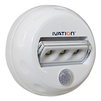 Luz de noche direccional de 3 LED con detección de movimiento automática Hipe - Luz de