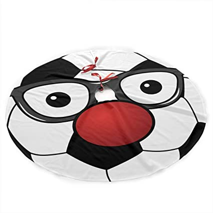 Christmas Cardinals Clipart.Amazon Com 35 5 Christmas Tree Skirt Soccer Ball Clipart