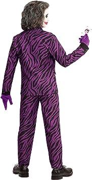 Traje Niño Malvado - 123 - 128 cm, 5 - 7 años | Disfraz Infantil Joker ...